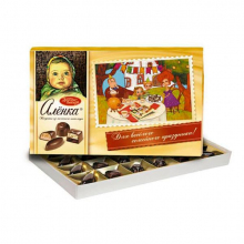 Набор конфет Аленка из молочного шоколада 185 гр.