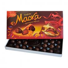 Набор конфет Маска с хрустящими вафлями 300 гр.